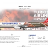 Turkish Airlines Airbus A321 231 ''Euroleague Old Livery''
