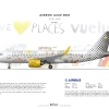 Vueling A320 Neo ''We Love Places Livery''