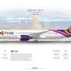 Thai Airways Boeing 787 9 Dreamliner