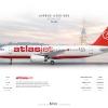 AtlasJet Airbus A320 200 ''TC IZL''