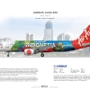 AirAsia Airbus A320 200 ''Colors Of Indonesia''