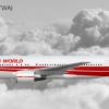 TWA Boeing 767-231ER N609TW