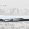 """Pan American World Airways Boeing 747-121 N735PA """"Clipper Spark of the Ocean"""""""