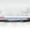 Piedmont Airlines Boeing 727-214 Adv N558PS