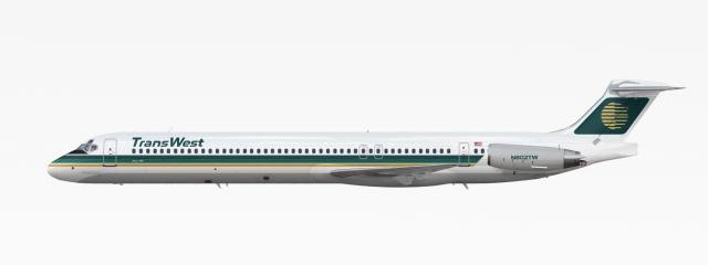 TransWest Airways | McDonnell Douglas MD-80 | 1980-1999