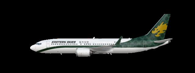 Eastern Skies Boeing 737 MAX 8