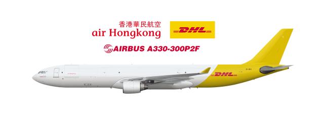 Air Hong Kong (Operated By DHL) Airbus A330-300P2F