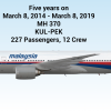 MH 370 - Gone, but never forgotten.