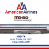 American Airlines McDonnell Douglas MD-83 - Last MD-80 made