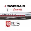 Swissair Sud-Aviation SE-210 Caravelle III