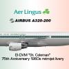 Aer Lingus Airbus A320-214, 1960 Retrojet