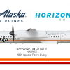 Horizon Air Retro Bombardier DHC-8 Q400
