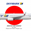 Skymark Airlines Boeing 737-86N/WL