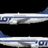 LOT Polskie Linie Lotnicze Boeing 737-55D