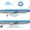 KLM Royal Dutch Airlines Boeing 737-800NG and -900NG Classic Duo