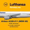 Deutsche Lufthansa Airbus A320-211, D-AIPA