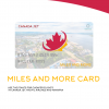 CANADA JET MILES AND MORE CARD