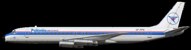 Polonia Linie Lotnicze S.A. - Douglas DC-8-62