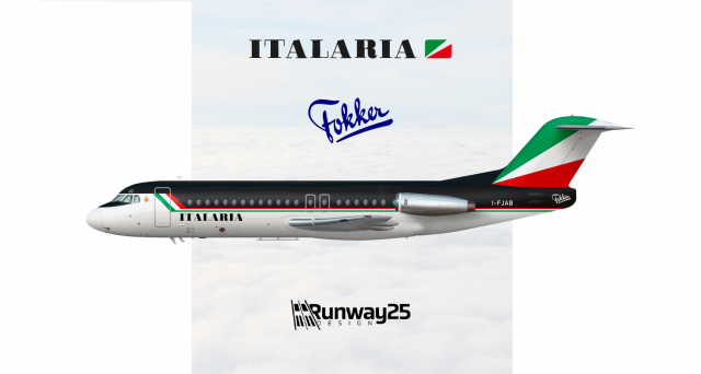 Fokker F28 Italaria