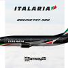 Boeing 737-300 Italaria
