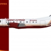 Phoenix Express Embraer 120 (1984 livery)