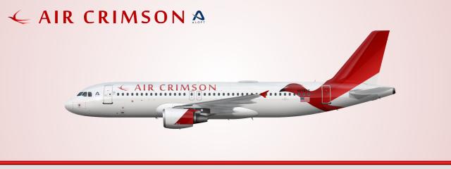 Air Crimson Airbus A320-200