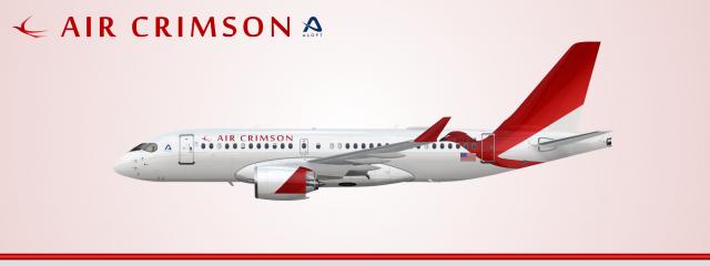Air Crimson Airbus A220-100