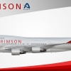 Air Crimson Boeing 747-400