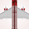 Air Crimson Boeing 757-251 (10 Exit/WL) Seat Map