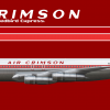 Air Crimson Boeing 707-320B