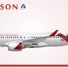 Air Crimson Airbus A220-100