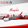 Air Crimson Airbus A321 (City Of Memphis)
