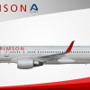 Air Crimson Boeing 757 200 (10-exit Scimitar)
