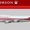Air Crimson Boeing 747-400 (Dutch Royal Airways Joint Venture)