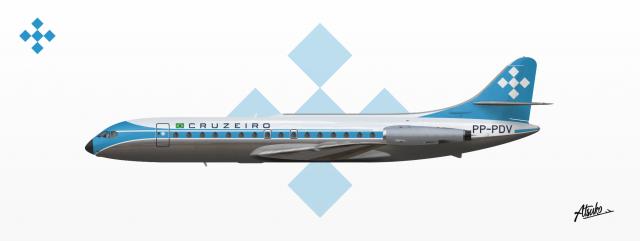 Cruzeiro - Sud Aviation SE-210 Caravelle VI-R
