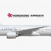 Hongkong Airways | Boeing 777-300ER | B-HCD
