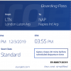 EuroJet Airways Print Boarding Pass