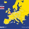 EuroJet Airways Route Map
