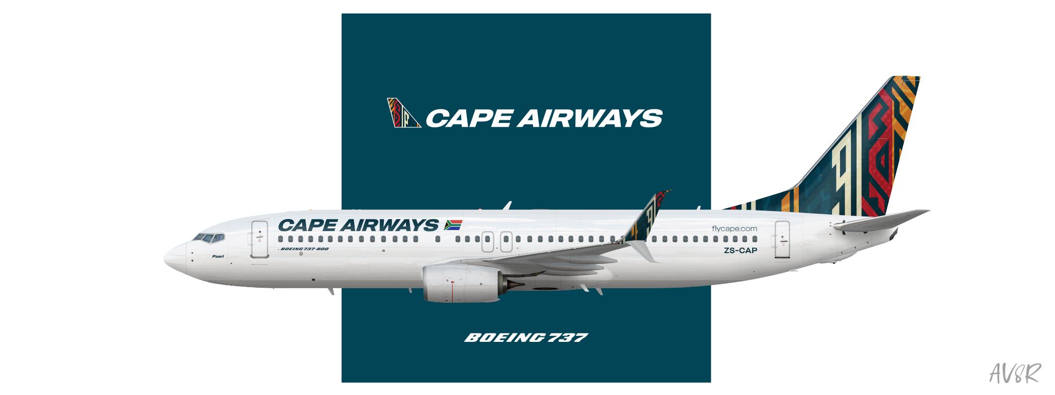 Cape Airways   Boeing 737-800