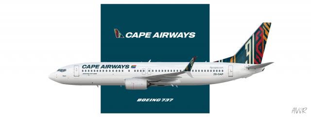 Cape Airways | Boeing 737-800
