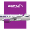 SkyHawaii Airlines | Airbus A220-300