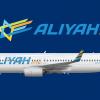 Aliyah Airlines (עליה)   Boeing 737-800