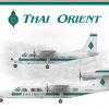 Thai Orient (Old Livery) Britten Norman Poster