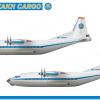 Royal Kazakh Cargo Antonov AN-12