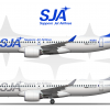 Sapporo Jet Airlines Airbus A220 300 Poster