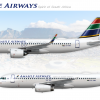 Amahle Airbus A320 Poster