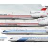 Irkutavia Tupolev Tu 154B-2 Poster