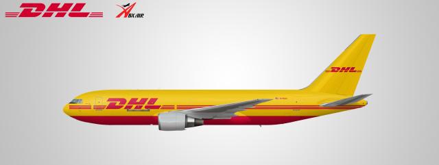 DHL dba. ABX Air 767-200 (N798AX)