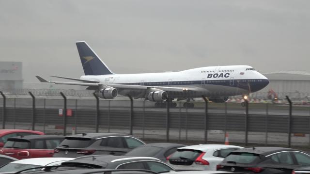 BA Retro - BOAC - 747-400 - G-BYGC - LHR