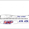 AYR AIR Scottish Independence Vote Livery #2